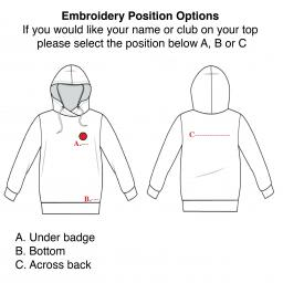 Childrens Embroidered Hoodies